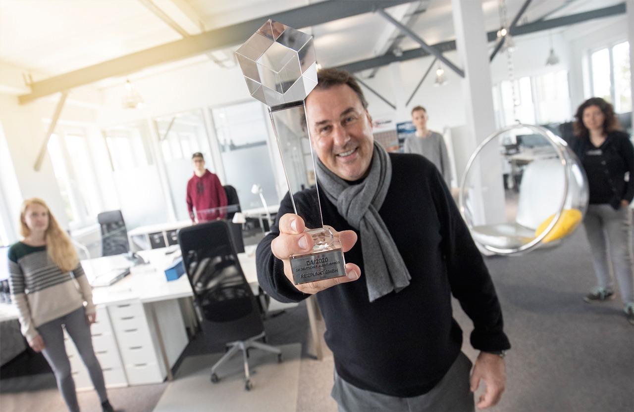 REIZPUNKT Gewinner-Agentur des DA/ 2020