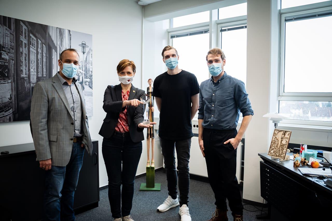 Saemann und Heller Gewinner Agentur des DA/ 2020
